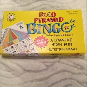 Family Fun Nutritional Food Pyramid Board Game